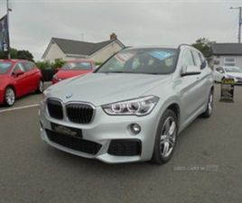 USED 2019 BMW X1 XDRIVE 20D M SPORT NOT SPECIFIED 29,000 MILES IN SILVER FOR SALE | CARSIT