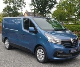USED 2017 RENAULT TRAFIC SL27 SPORT NAV ENG NOT SPECIFIED 42,500 MILES IN BLUE FOR SALE  