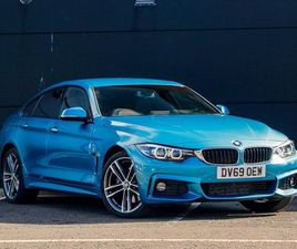 BMW 4 SERIES GRAN COUPE 420D XDRIVE M SPORT GRAN COUPE AUTO 2.0 5DR