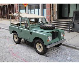 FOR SALE: 1973 LAND ROVER SERIES III IN NEW YORK, NEW YORK