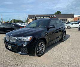 2016 BMW X3 AWD XDRIVE28I I M SPORT PKG. I NAVI*CAMERA*PANO*MINT | CARS & TRUCKS | OAKVILL