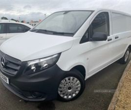 USED 2017 MERCEDES-BENZ VITO 109 CDI NOT SPECIFIED 99,000 MILES IN WHITE FOR SALE | CARSIT