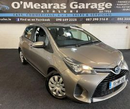 TOYOTA YARIS HYBRID AUTOMATIC FOR SALE IN WESTMEATH FOR €11,950 ON DONEDEAL