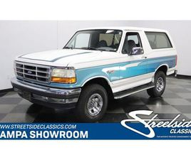 FOR SALE: 1995 FORD BRONCO IN LUTZ, FLORIDA