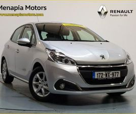 PEUGEOT 208 ACTIVE 1.2 82 4DR PRICE INCLUDES MIN FOR SALE IN WEXFORD FOR €11,595 ON DONEDE