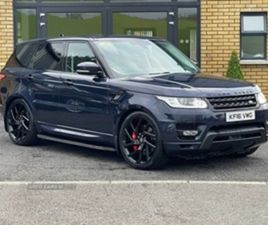 USED 2016 LAND ROVER RANGE ROVER SPORT HSE SDV NOT SPECIFIED 110,000 MILES IN BLUE FOR SAL