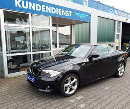 BMW 1 CABRIO 118I *2.HAND/SITZHEIZUNG/PDC*