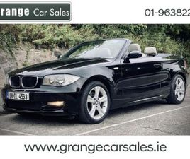 BMW 1 SERIES CONVERTIBLE - FULL LEATHER - LOW KM. FOR SALE IN DUBLIN FOR €8,950 ON DONEDEA