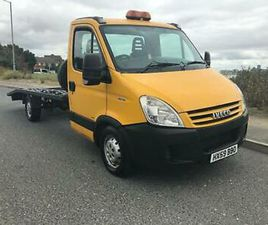 2009 IVECO DAILY 2.3 LWB RECOVERY TRUCK AIR SUSPENSION GREAT TRUCK