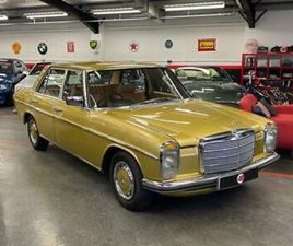 MERCEDES W114 250 2.8 AUTO SALOON FACELIFT 1974 /// 38K MILES