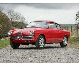 1960 ALFA ROMEO GIULIETTA SPRINT. SUBJECT TO A BARE METAL RESTORATION