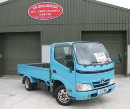 TOYOTA DYNA, 2012 PRICE PLUS VAT FOR SALE IN CORK FOR €11,000 ON DONEDEAL