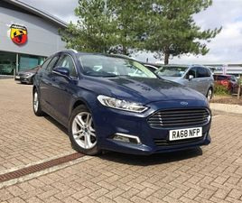 USED 2019 FORD MONDEO 1.5 ECOBOOST 165 ZETEC EDITION 5DR ESTATE 30,921 MILES IN BLUE FOR S