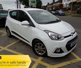 USED 2015 HYUNDAI I10 1.0 PREMIUM BLUE DRIVE 5D 65 BHP HATCHBACK 41,459 MILES IN WHITE FOR