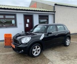 USED 2014 MINI COUNTRYMAN ONE D HATCHBACK 49,625 MILES IN BLACK FOR SALE | CARSITE