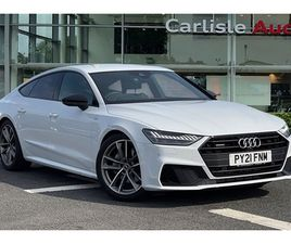 USED 2021 AUDI A7 45 TFSI 265 QUATTRO BLACK EDITION 5DR S TRONIC HATCHBACK 2,500 MILES IN