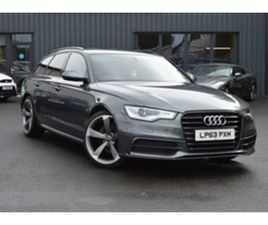 USED 2014 AUDI A6 2.0 AVANT TDI S LINE 5D AUTO 175 BHP ESTATE 93,000 MILES IN GREY FOR SAL