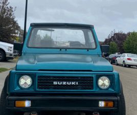 SUZUKI SAMURAI 1989 | CARS & TRUCKS | EDMONTON | KIJIJI