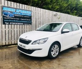 USED 2015 PEUGEOT 308 ACTIVE HDI S/S HATCHBACK 74,369 MILES IN WHITE FOR SALE | CARSITE