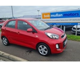 USED 2017 KIA PICANTO 1 AIR HATCHBACK 34,000 MILES IN RED FOR SALE | CARSITE