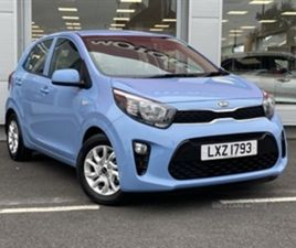 USED 2017 KIA PICANTO LEVEL 2 1.0 66PS 5DR HATCHBACK 5,708 MILES IN BREEZE BLUE FOR SALE |
