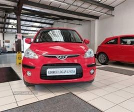 USED 2009 HYUNDAI I10 COMFORT HATCHBACK 53,500 MILES IN RED FOR SALE | CARSITE