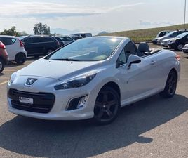 PEUGEOT 308 CC 1.6 16V TURBO SWISS COLLECTOR