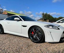 2012 JAGUAR XKR-S 5.0 V8 (542BHP) COUPE AUTO - £37,999