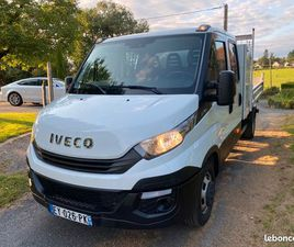 CAMION BENNE IVECO DAILY VI DOUBLE CABINE 35C14 2.3 D 16V 136 CV
