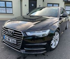 2016 AUDI A6 S-LINE AVANT S-TRONIC 190HP NCT 08/22 FOR SALE IN WEXFORD FOR €26,950 ON DONE