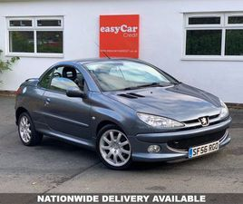PEUGEOT 206 1.6 ALLURE HDI COUPE CABRIOLET 2D 108 BHP