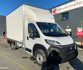 FIAT DUCATO 160CH CAISSE HAYON 20M3 NEUF