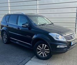 SSANGYONG REXTON COMMERCIAL €13,800 PLUS VAT FOR SALE IN DUBLIN FOR €13,800 ON DONEDEAL