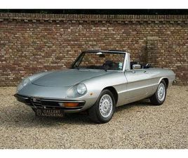 ALFA ROMEO SPIDER 2000 VERY WELL MAINTAINED CAR, RESTORED CONDITION (1980)