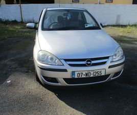 07 OPEL CORSA NCT/ TAX LOW MILES CLEAN FOR SALE IN WEXFORD FOR €1,500 ON DONEDEAL