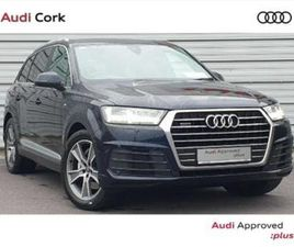 Q7 3.0TDI V6 272BHP QUATTRO S-LINE AUTOMATICWITH AIR SUSPENSION, TECH PACK, TINT, AMBIENT