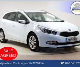KIA CEED SPORTSWAGON 1.4 EX 5DR FOR SALE IN LONGFORD FOR €10,450 ON DONEDEAL