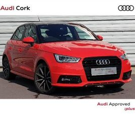 AUDI A1 A1 SPORTBACK 1.0TFSI 95BHP S-LINE COMPETI FOR SALE IN CORK FOR €20,995 ON DONEDEAL