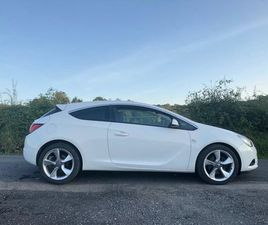 2013 VAUXHALL ASTRA GTC DIESEL 2.0. MANUAL. FOR SALE IN FERMANAGH FOR £4,300 ON DONEDEAL