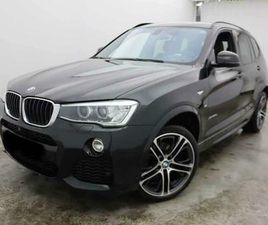 BMW X3 2.0D 163CV XDRIVE M-SPORT TOTAL OPTIONS 23710EURO