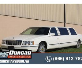 FOR SALE: 1998 CADILLAC DEVILLE IN CHRISTIANSBURG, VIRGINIA