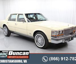 FOR SALE: 1979 CADILLAC SEVILLE IN CHRISTIANSBURG, VIRGINIA