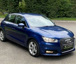 USED 2015 AUDI A1 1.6 SPORTBACK TDI SPORT 5D 114 BHP HATCHBACK 102,532 MILES IN BLUE FOR S