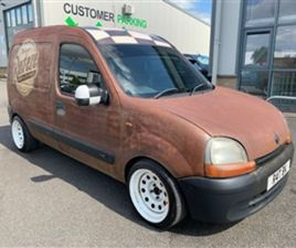 USED 2001 RENAULT KANGOO 1.9 665D 65BHP 4DR NO VAT NOT SPECIFIED 138,775 MILES IN OTHER FO
