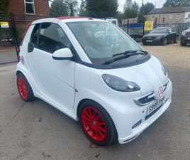 SMART FORTWO 1.0 BRABUS XCLUSIVE CABRIOLET SOFTOUCH 2DR