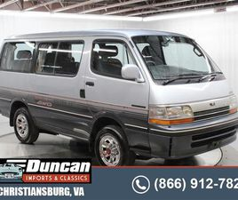 FOR SALE: 1992 TOYOTA HIACE IN CHRISTIANSBURG, VIRGINIA