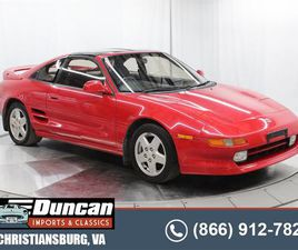 FOR SALE: 1992 TOYOTA MR2 IN CHRISTIANSBURG, VIRGINIA