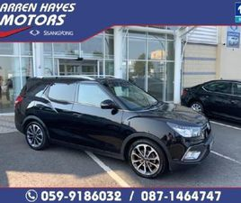SSANGYONG TIVOLI 1.6 D AUTO EL FOR SALE IN CARLOW FOR €21,995 ON DONEDEAL