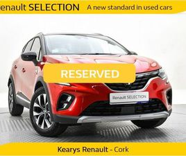 RENAULT CAPTUR S-EDITION TCE 100 MY19 FOR SALE IN CORK FOR €25,900 ON DONEDEAL