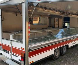 CAMION MAGASIN VITRINE REFRIGEREE 5METRES EXTENSIBLE